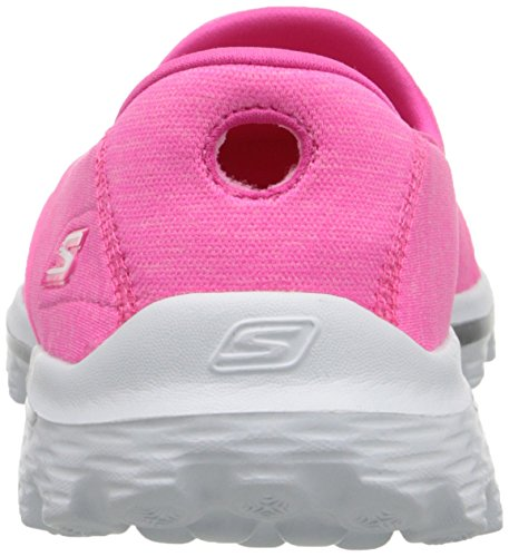 Walkingschuhe Rosa 2 Damen Sock Skechers GO nbsp;Super Walk ROwKxTqv