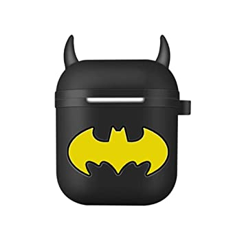 Hengtonwanda Airpods Caso, caja de almacenamiento de auriculares Bluetooth inalámbrico, carcasa de protección de Batman AirPods2 Generación auriculares de silicona, diseño de dibujos animados: Amazon.es: Electrónica