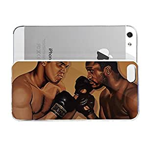 Case for iPhone 5/5s Landmarks Muhammad Ali And Joe Frazier