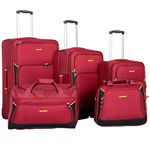 newest-5-piece-softshell-deluxe-expandable-rolling-luggage-set