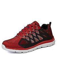 Vivay Mens Sneakers Lightweight Athletic Running shoes Casual Walking Sneakers