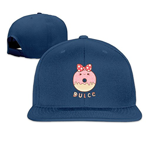 Joapron Strawberry Donut Unisex Causal Fitted Flat Bill Baseball Cap - Pizza Ipswich Hut Delivery
