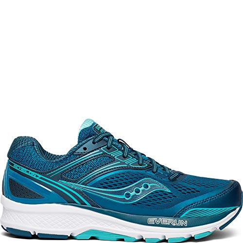 Saucony Women's Echelon 7 Running Shoe, Teal, 7 W US