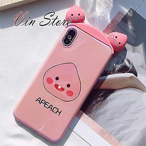 buy popular ba070 118b5 Amazon.com: Vin Store BT21 Phone Case iPhone X Case - BT21 Official ...