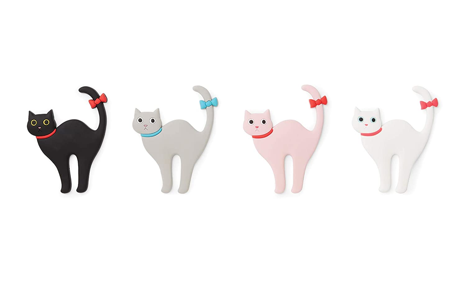 Fox Run 48745 Cat Butt Magnet (Set of 6) One Size Multicolor