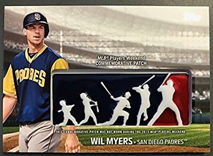 3e00b2d3dcf 2018 Topps MLB Players Weekend Commemorative Patches  PWP-WM Wil Myers NM-MT