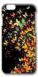 iPhone 6 Case, Custom Design Protective Covers for iPhone 6(4.7 inch) PC 3D Case - Colorful Butterfly