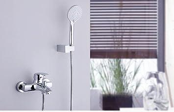 Saejj ensemble de douche einfache duscharmatur badewanne moderne de