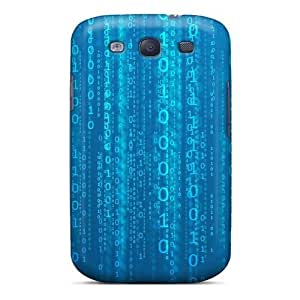 Cynthaskey WiweeFx5618vMyxJ Case For Galaxy S3 With Nice Matrix Binary Appearance