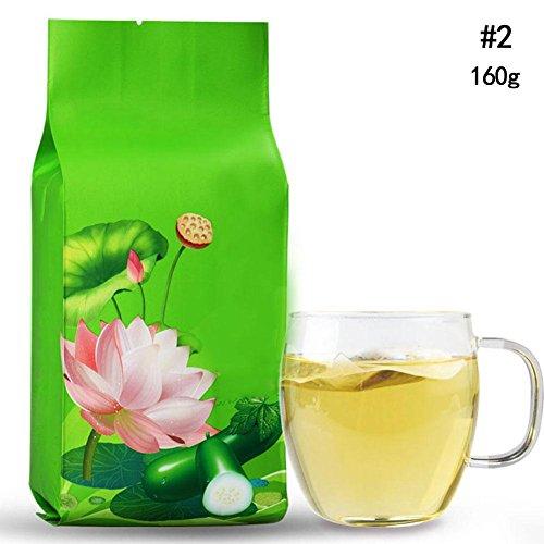 - Chinese Scented Lotus leaf Winter melon Tea Bag Oil control Dried Orange Peel (160g)
