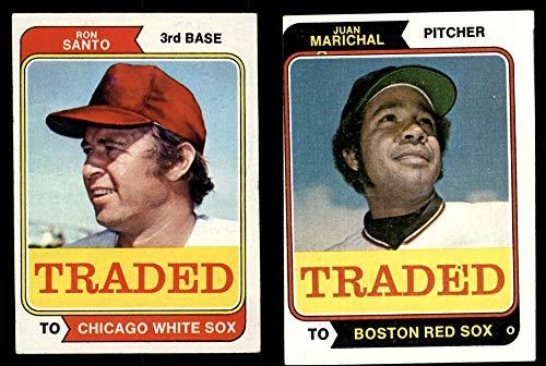(1974 Topps Traded Baseball Complete Set (Baseball Set) Dean's Cards 4.5 - VG/EX+)