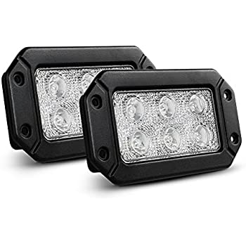 Amazoncom iJDMTOY 2 Flush Mount 10W High Power CREE LED Backup