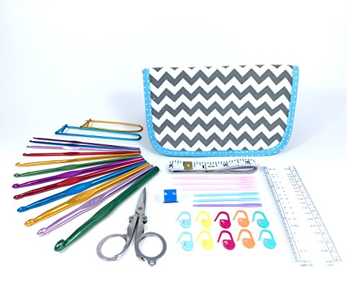 TenderHeart Shop Crochet Kit with Hook Set, Stitch
