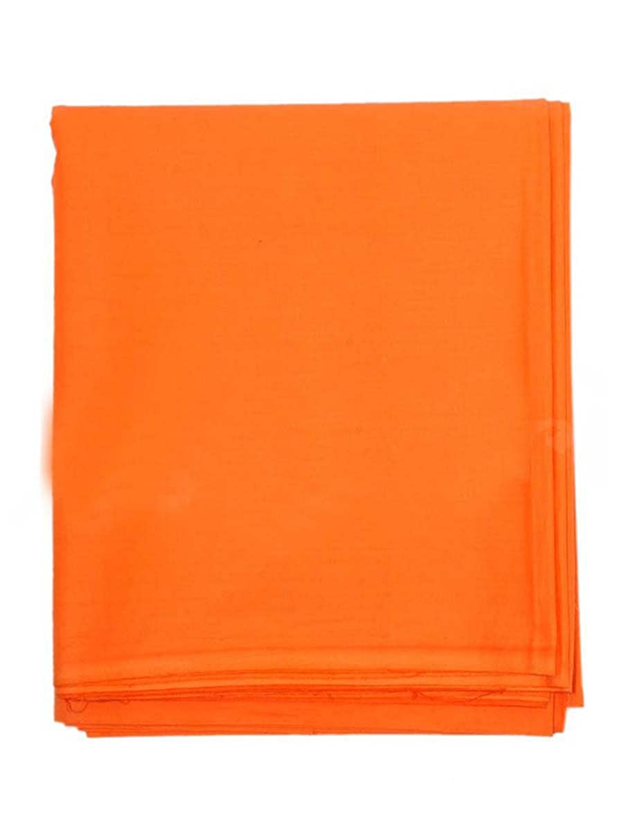 Indian Handicrafts Export Dhoti Cotton Saffron G22GG-Saffr4On