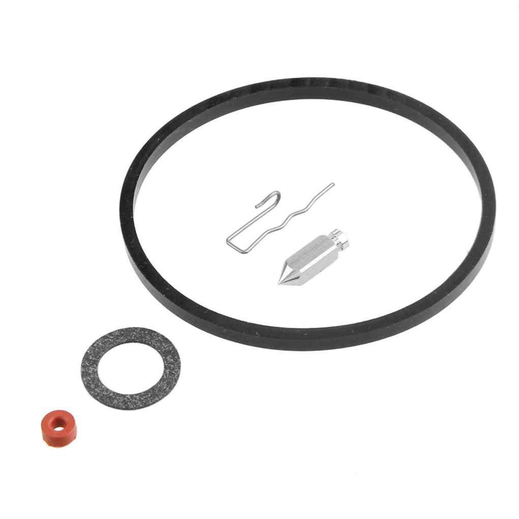 Minzhi 5 Sets Carburetor Repair Kit Needle and Seat Bowl Gasket Replaces for TECUMSEH 631021B Mechanical Repair Kits