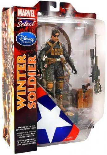 Marvel Select Exclusive Action Figure Winter Soldier by Marvel [parallel import goods]