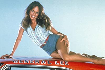 Catherine Bach On Car Roof Hot Dukes Of Hazzard 24X36 Poster