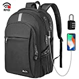 Business Laptop Backpack, Extra Large TSA Friendly Durable Anti-Theft Travel Backpack with USB