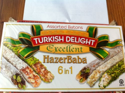Hazer Turkish Delight Assorted Batons product image