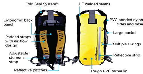 9af2f25e92 OverBoard OB1142 Waterproof Backpack -30 Litre  Amazon.co.uk  Sports    Outdoors