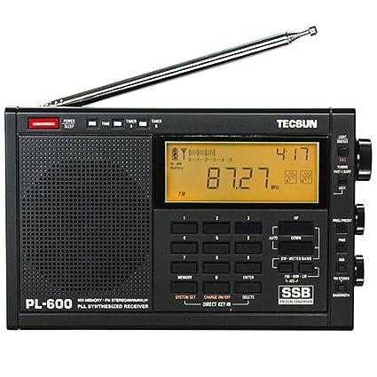 TECSUN PL-600 Multiband Radio Receiver LW//MW//SW-SSB//FM Estereo//.