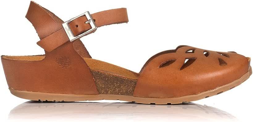YOKONO CAPRI-003 Sandalia Piel Calada Bio Mujer Cuero 36: Amazon.es: Zapatos y complementos