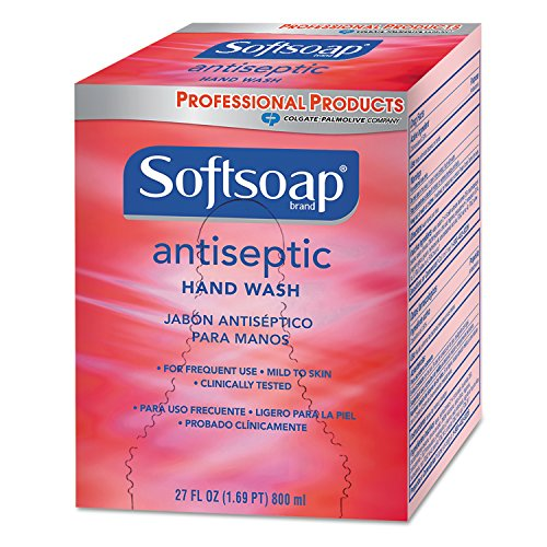 Antiseptic Soap 800 Ml Refills - Softsoap CPM-01930 Antiseptic Hand Soap, 800 mL Refill, Red (Pack of 12)