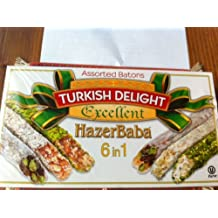 Hazer Baba Mixed Turkish Delight Assorted Batons, 350g