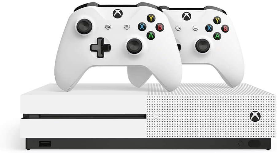 Xbox One S paquete de dos controladores (1TB) incluye Xbox One S, 2 controladores inalámbricos: Amazon.es: Videojuegos
