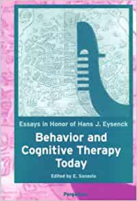 Behavior cognitive essay eysenck hans honor in j therapy today