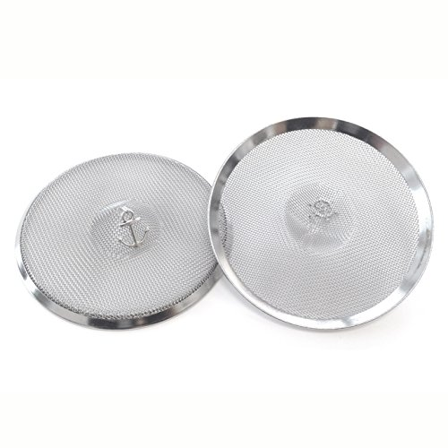 - Wine Glass Cover (Z2) MIXED charms. Electropolished. Set of 2. Made in the USA.
