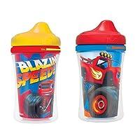 Gerber Graduates Nickelodeon Blaze & The Monster Machines - Copa de sippy con boquilla con aislamiento, paquete de 2