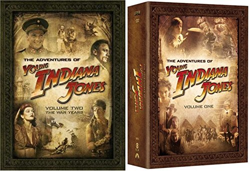 The Adventures of Young Indiana Jones, DVD Set Volume One + Vol. Two - The Early Years & The War Years (Indiana Jones Crystal Temple)
