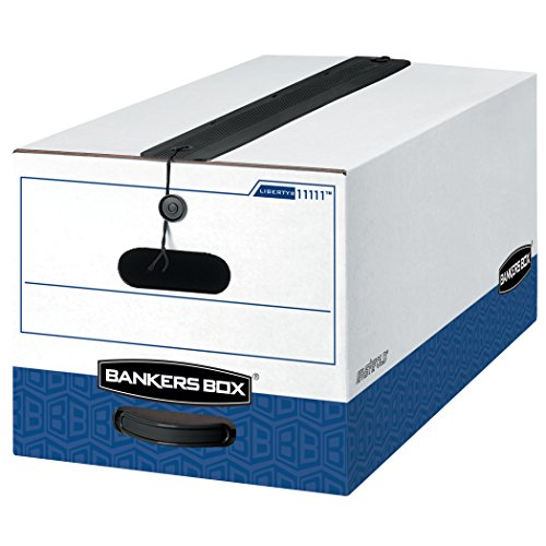 Bankers Box LIBERTY PLUS Heavy-Duty Storage Boxes,