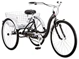 Schwinn Meridian Wheel Trike Bicycle, Black, 14'/One Size