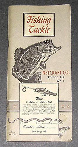 - Fishing Tackle Netcraft Co. Catalog No. 61A