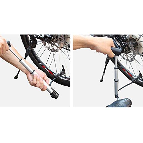 Perfeclan 空気ポンプ ミニ ポータブル 自転車 サイクリング エアーポンプ インフレータ タイヤ用