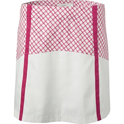 Windowpane Collection - Lady Hagen Women's Sunset Collection Windowpane Block Golf Skort (0)