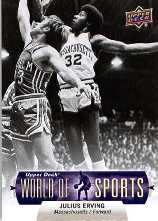345864254249 2011 Upper Deck World of Sports  323 Julius Erving University of  Massachusetts Amherst Minutemen - Screwdown Trading Card (ShortPrint)s at  Amazon s Sports ...