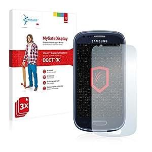 3x Vikuiti MySafeDisplay Protector de Pantalla DQCT130 de 3M para Samsung GT-I8200N