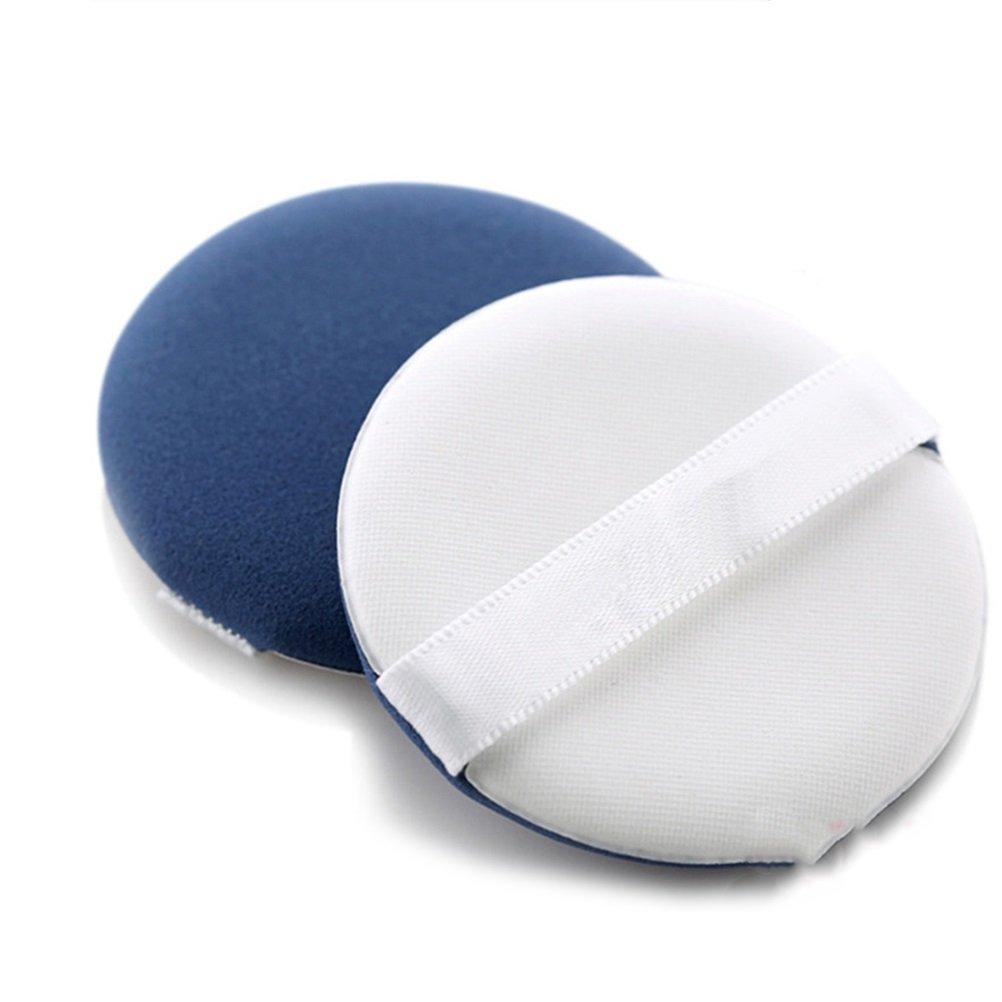 Frcolor Esponja del Soplo de Polvo Facial Suave Esponja Fundación del Maquillaje Herramientas de Cosmético (Azul)