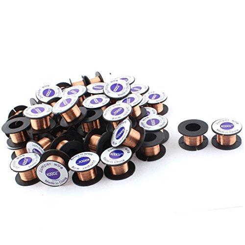 eDealMax 0.1mm Dia Jewelery Scrap Repair Soldering Solder Wire Reel 50pcs