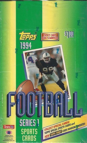 (1994 Topps Football Series 1 Factory Sealed Box 36 Packs)