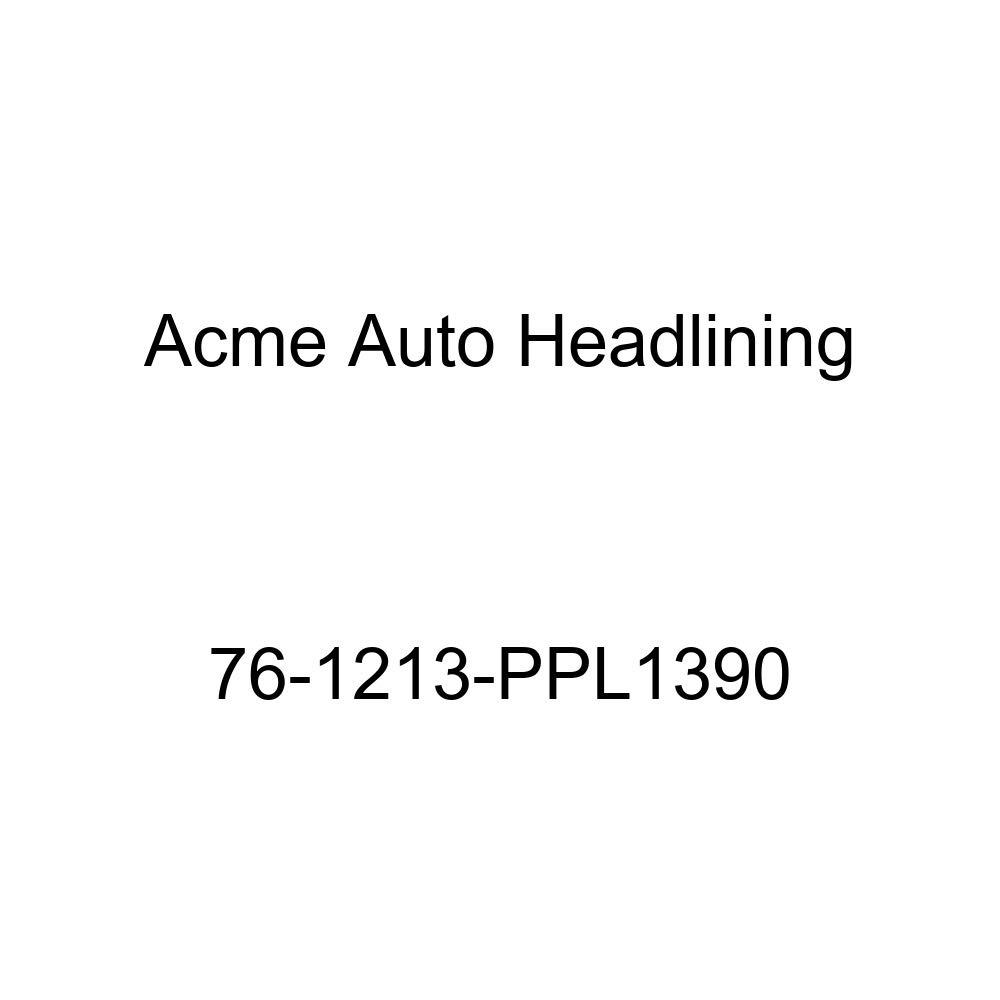 Acme Auto Headlining 76-1213-PPL1390 Maroon Replacement Headliner 6 Bow 1976 Oldsmobile 98 2 Door Hardtop