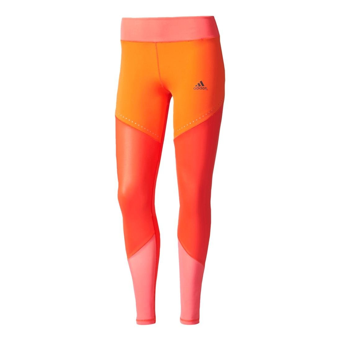 adidas Women's Training Wow Drop Tights, Core Red/Core Pink, Small by adidas (Image #1)