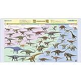 コイズミ デスクマット 小学館の図鑑 NEO [恐竜/世界のカブトムシ・クワガタムシ]両面クリア YDS-850KK