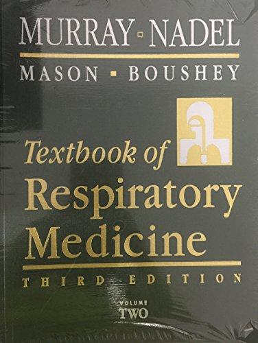 Textbook of Respiratory Medicine, Vol. 2