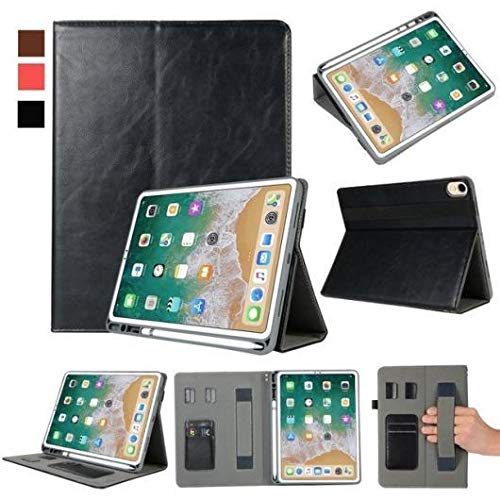 訳あり商品 AL iPadケース プレミアム 11 Apple B07L68HY1P iPad Pro iPadケース 11 2018 オート 覚醒スマート スリープ カバー タブレットハンドストラップ ペンシルスロット Black AL-AA-6459-BK Black B07L68HY1P, ハヤカワスポーツ:be70d35f --- a0267596.xsph.ru