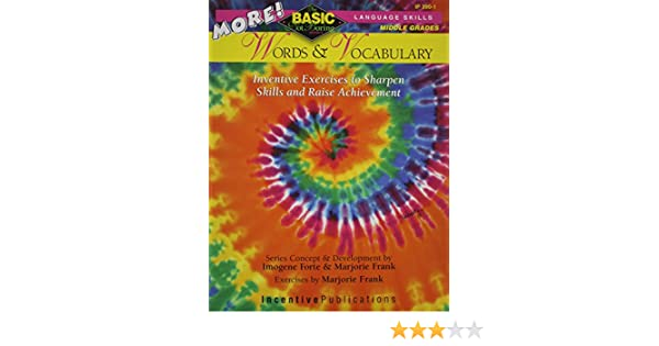Amazon.com: MORE! Words & Vocabulary: BASIC/Not Boring: Inventive ...