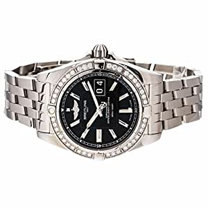 Breitling Galactic automatic-self-wind mens Watch A49350 (Certified Pre-owned)